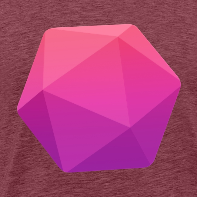 Pink D20 - D&D Dungeons and dragons dnd