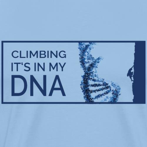 Climbing DNA - Männer Premium T-Shirt
