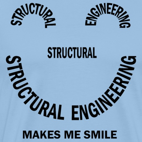 Structural Engineering Smile - Men's Premium T-Shirt