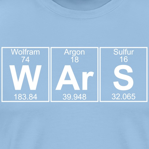 W-Ar-S (wars) - Men's Premium T-Shirt