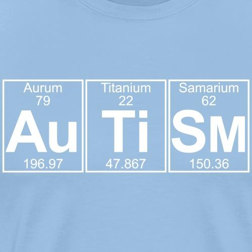 Au-Ti-Sm (autism) - Full - Men's Premium T-Shirt
