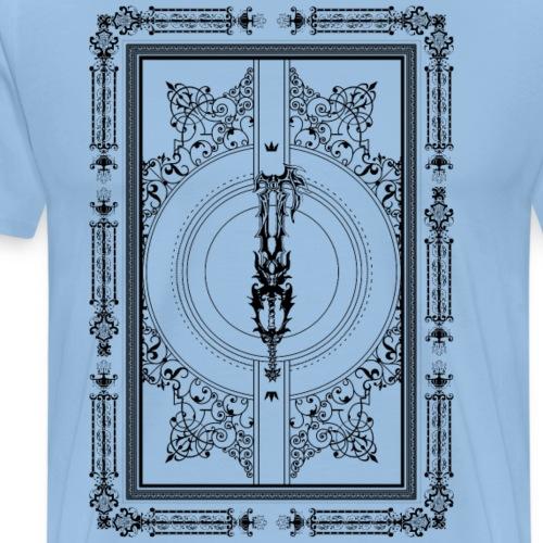 Darkness - Kingdom Hearts - Negro - Camiseta premium hombre