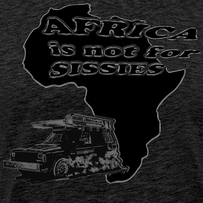 Africa is not for sissies JEEP png