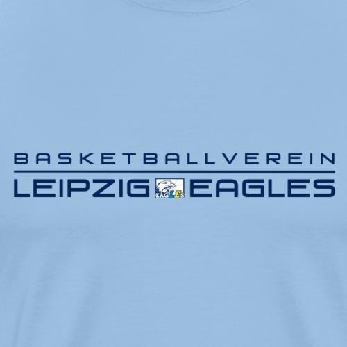 Eagles Schriftzug original 2 - Männer Premium T-Shirt