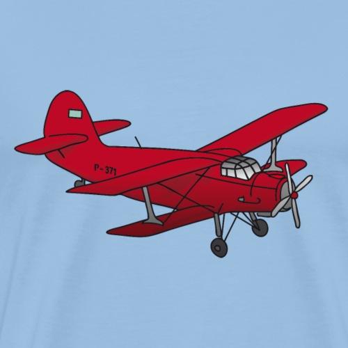 Biplano - Maglietta Premium da uomo