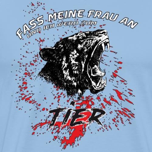 Tier Frau - T-Shirt - Männer Premium T-Shirt