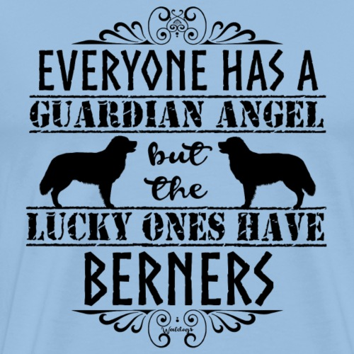 Bernese Berner Angel - Men's Premium T-Shirt