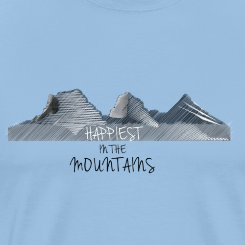 Happiest in the sisters light - Männer Premium T-Shirt
