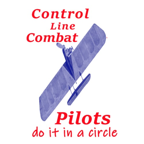 Control line combat wing dogfight airplane