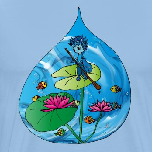 Udus- der Hüter des Wassers - Männer Premium T-Shirt
