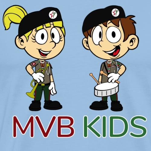 MVB KIDS - Mannen Premium T-shirt