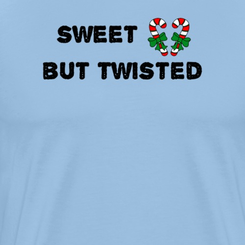 sweet but twisted candy xmas cute - Männer Premium T-Shirt