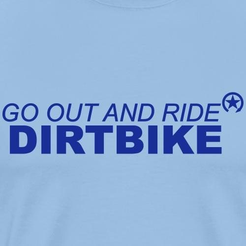 ride dirtbike bl 7GO02 - Men's Premium T-Shirt