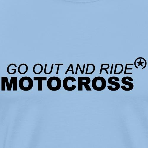 ride motocross bk 7GO01 - Men's Premium T-Shirt