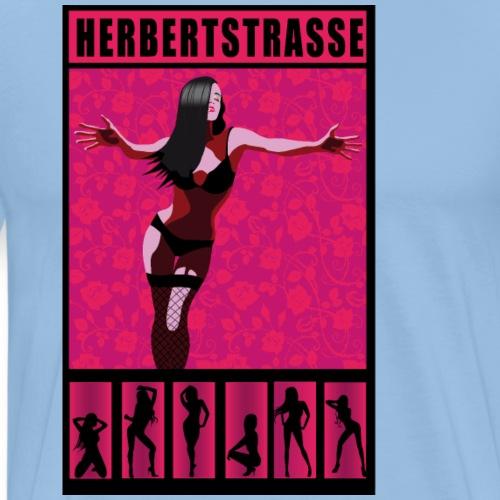 Herbertstrasse Reeperbahn - Hamburg St. Pauli - Männer Premium T-Shirt