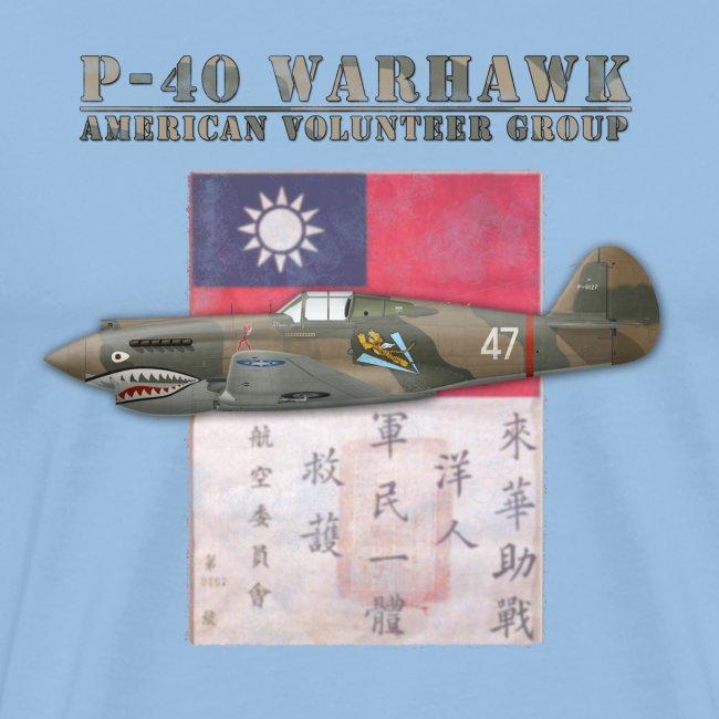 P-40 Warhawk Flying Tiger American Volunteer Group