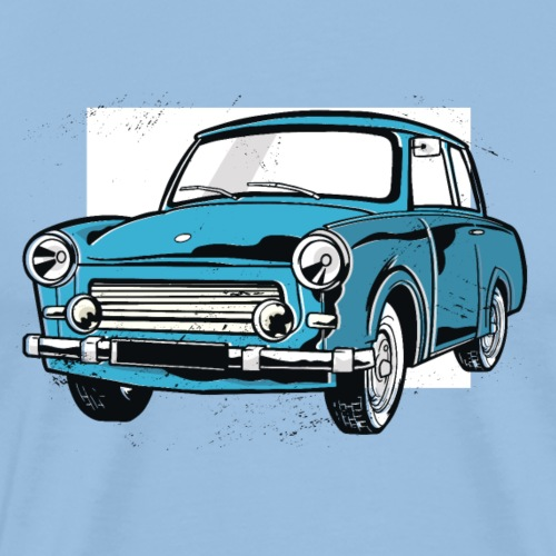 Trabant 601 (light blue) - Men's Premium T-Shirt
