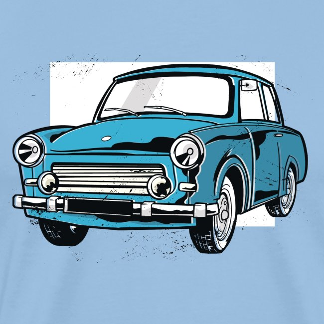 Trabant 601 (light blue)