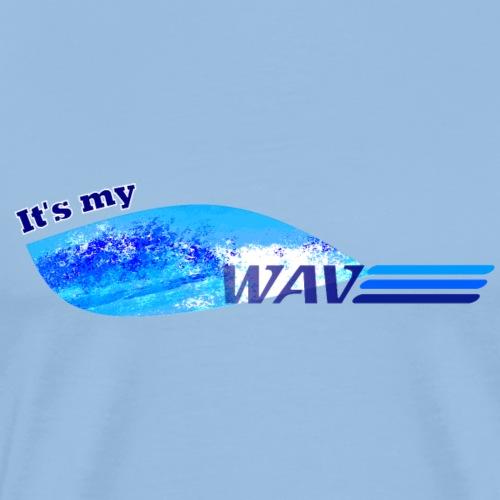 It's My Wave - Men's Premium T-Shirt