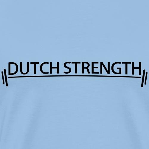 Dutch Strength BlackWhite - Mannen Premium T-shirt