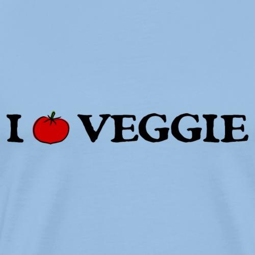 i love veggie - Männer Premium T-Shirt