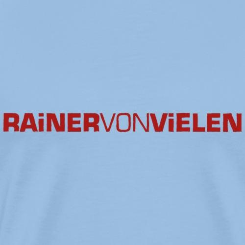 RvV Schriftzug - Männer Premium T-Shirt
