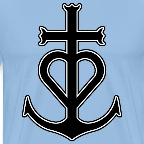 Croix - T-shirt Premium Homme