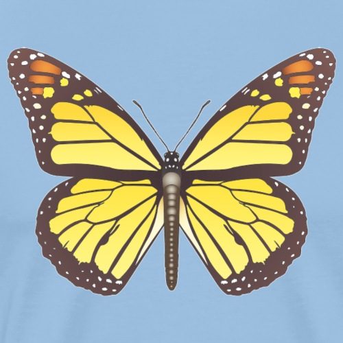 190520 monarch butterfly lajarindream - Camiseta premium hombre