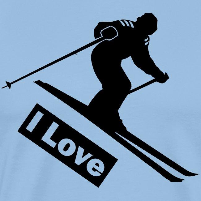 Coole ski hoodie print