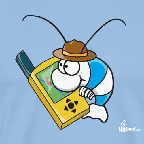 Thoddys Geocaching Garnele - Männer Premium T-Shirt