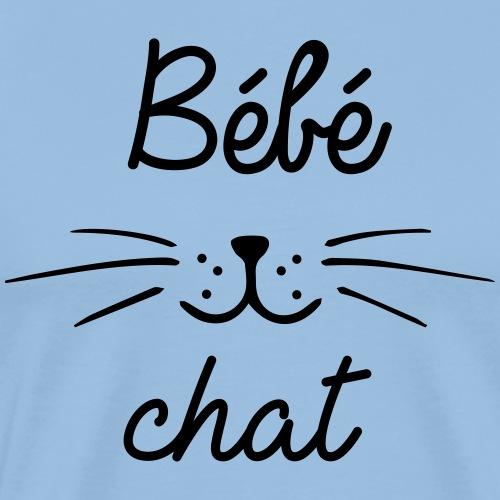 Bébé chat - T-shirt Premium Homme
