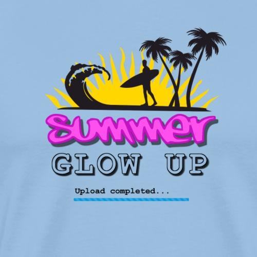 Summer Glow Up - Männer Premium T-Shirt