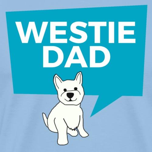 Westie Dad - Men's Premium T-Shirt