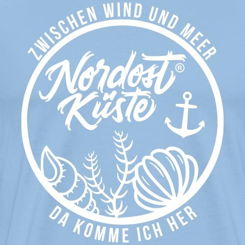Nordost Küste Logo #10 - Männer Premium T-Shirt