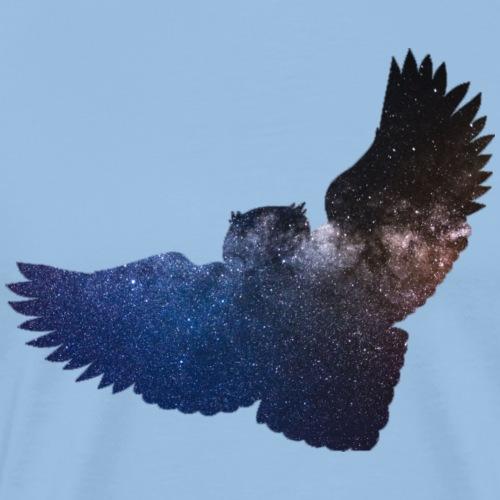 Sternen Eule - Männer Premium T-Shirt