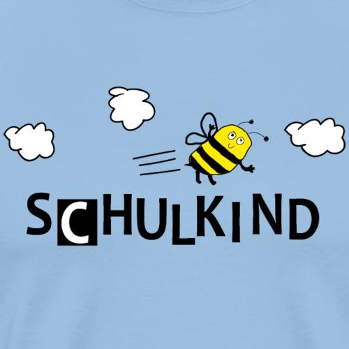 Schulkind Biene - Männer Premium T-Shirt