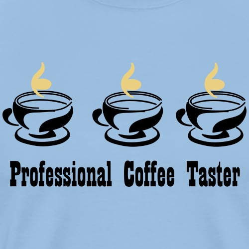 Professional Coffee Taster - Männer Premium T-Shirt