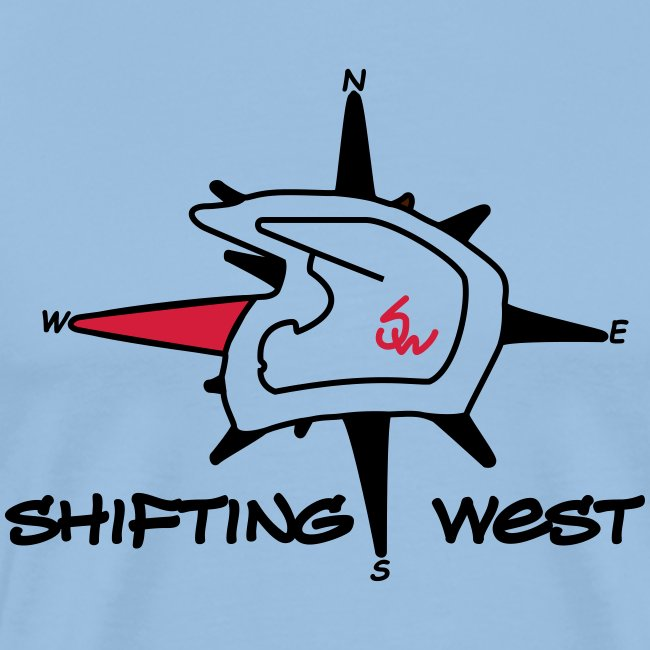 Shifting West Logo vector