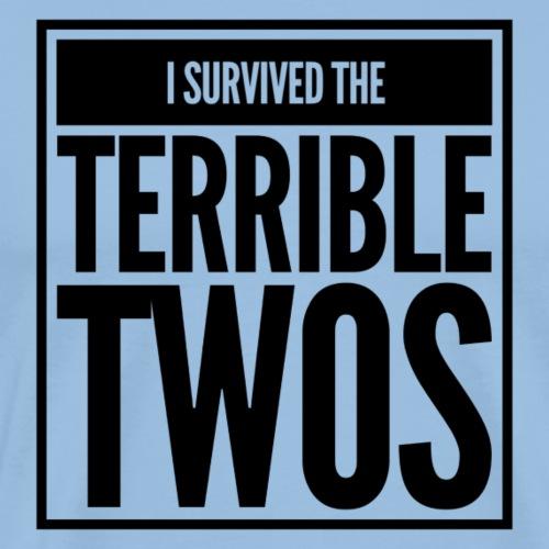 Terrible Twos - Camiseta premium hombre