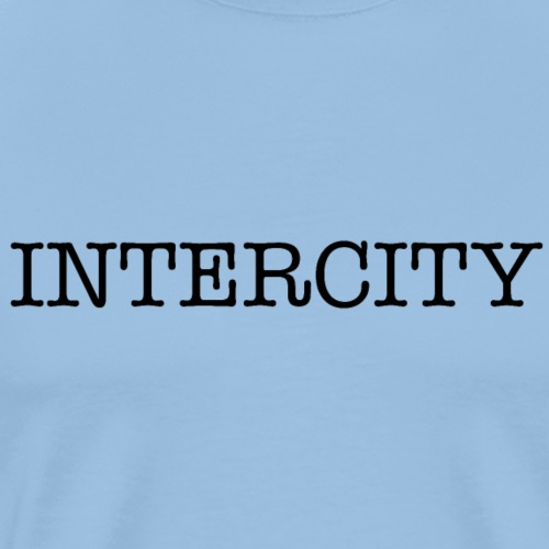 intercity 2 - Herre premium T-shirt