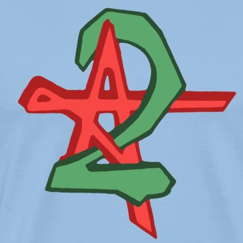Logo Antenne 2 - T-shirt Premium Homme