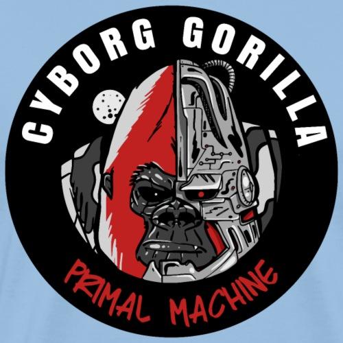 Gorilla Cyborg - T-shirt Premium Homme