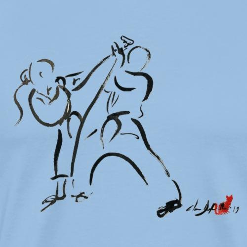 KARATE 1 - Maglietta Premium da uomo