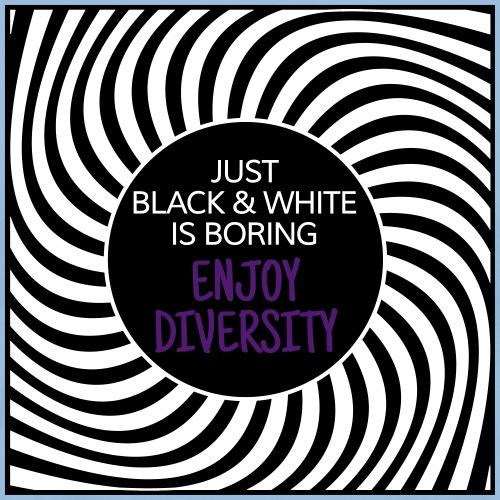 JUST BLACK & WHITE IS BORING | The colorful zebra - Men's Premium T-Shirt