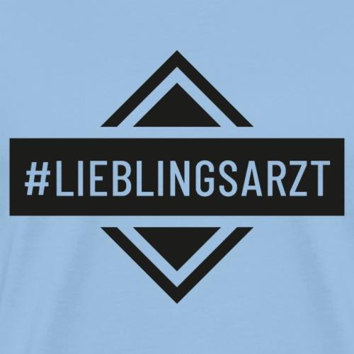 Lieblingsarzt (DR13) - Männer Premium T-Shirt