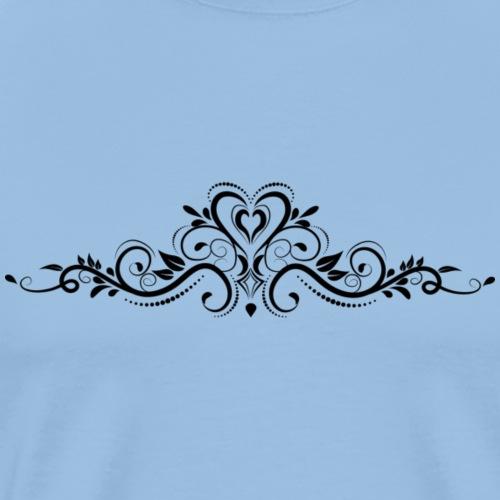 Elegantes Muster - Männer Premium T-Shirt