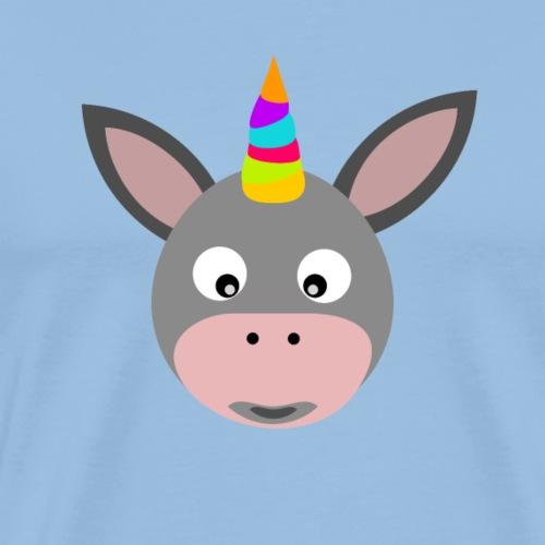 EinhornEsel - Männer Premium T-Shirt