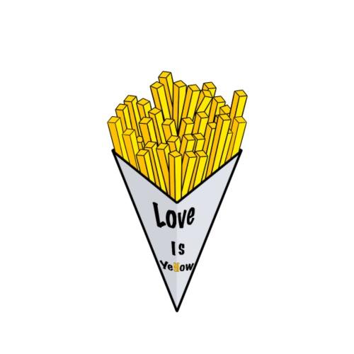 love is yellow - Männer Premium T-Shirt