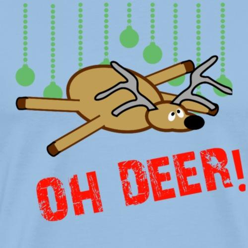 Oh deer - Mannen Premium T-shirt