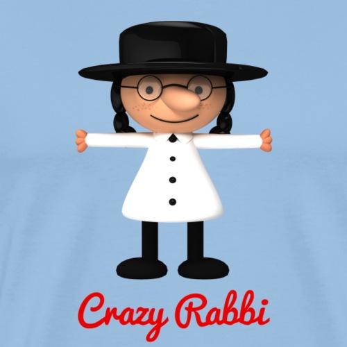 Crazy Rabbi - T-shirt Premium Homme